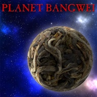 """Planet Bangwei"" Sheng / Raw Puerh from Crimson Lotus Tea"