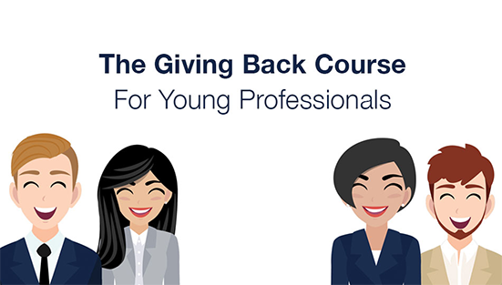 The Giving Back Course for Young Professionals