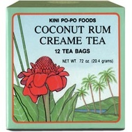 Coconut Rum Creame Tea from Kini Po-Po Foods of Hawaii