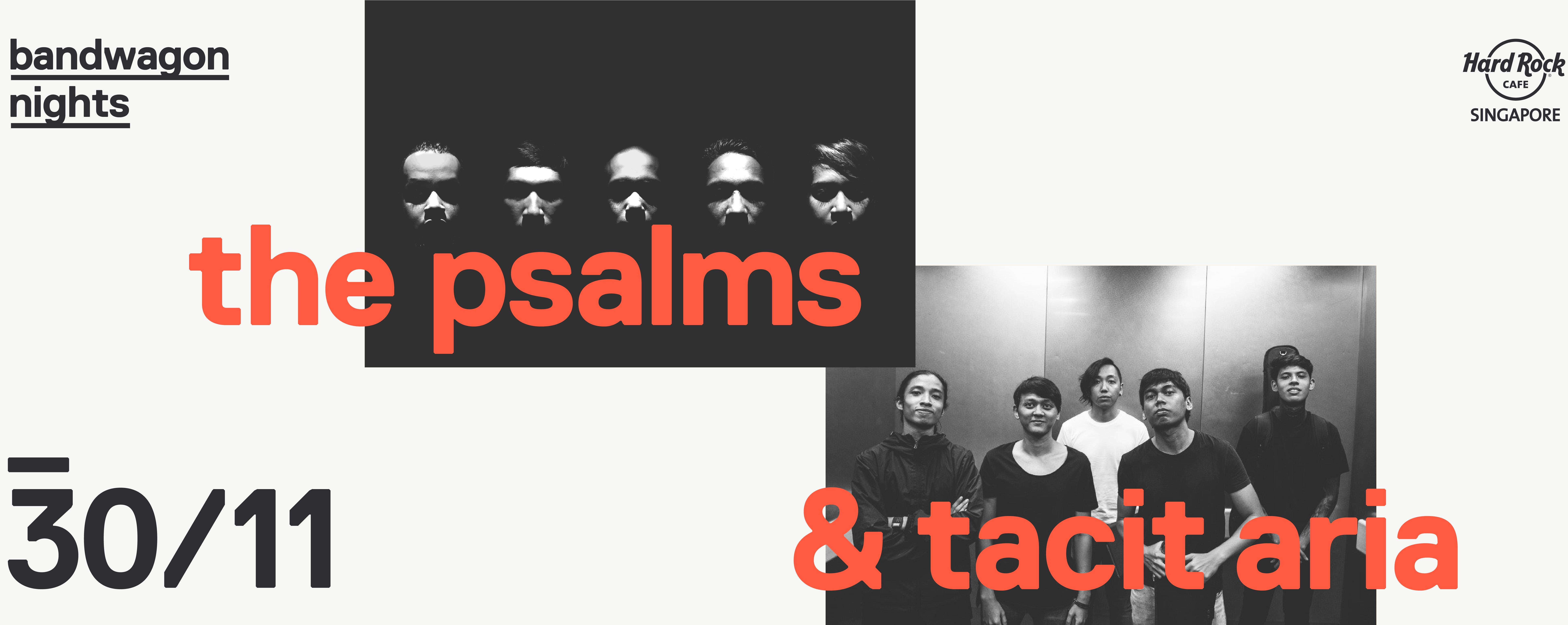 Bandwagon Nights   Tacit Aria + the Psalms