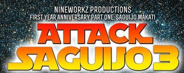 Attack Saguijo 3!