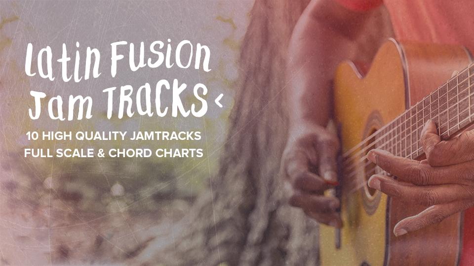 Latin Fusion Jam Tracks Guitar Playback