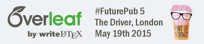 Overleaf futurepub 5 event small logo May 19th