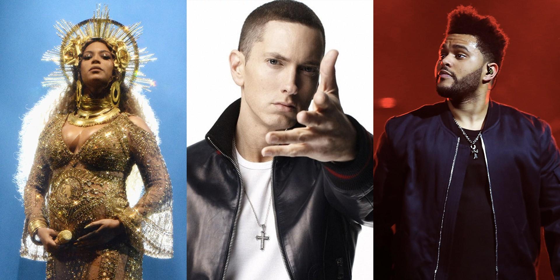 Coachella 2018 line-up: Beyoncé, The Weeknd, Eminem to headline