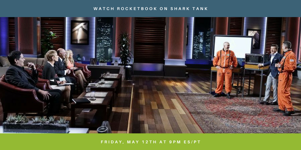 Rocketbook Wave to be Featured on Season Finale of Hit TV Show, Shark Tank
