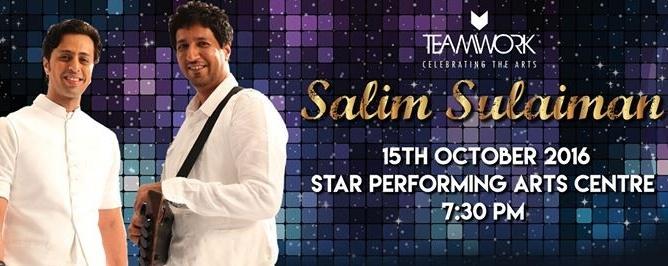 Salim Sulaiman - Live in Concert