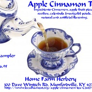Apple Cinnamon Tea from Home Farm Herbery