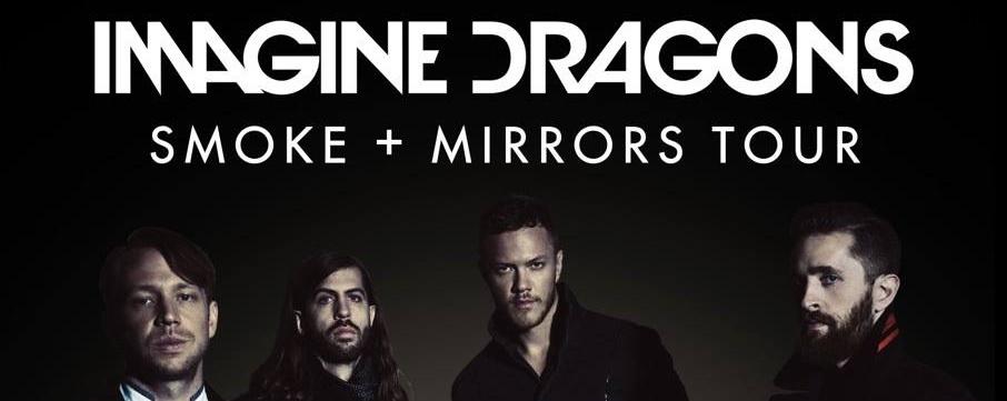 IMAGINE DRAGONS Smoke + Mirrors Tour