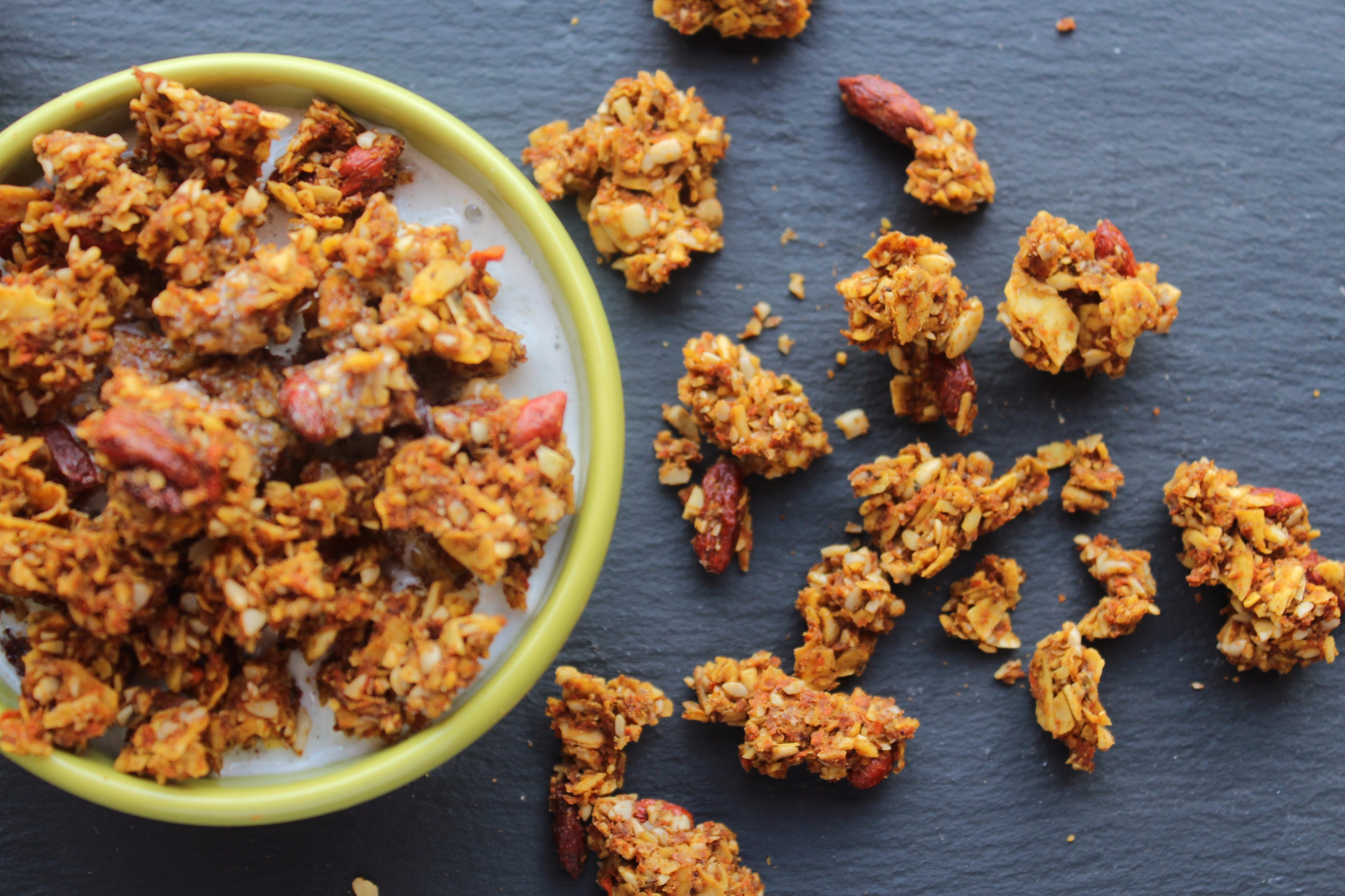 learn to make plant-based granola