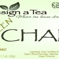 Green Chai from Design a Tea