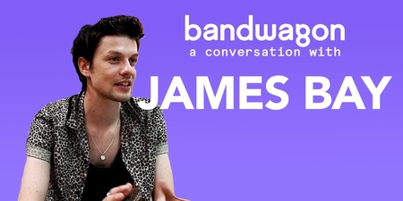 James Bay talks about his latest album, his inspirations and more – watch