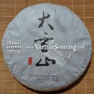 """2010 Yunnan Sourcing """"Big Snow Mountain"""" Raw Pu-erh from Yunnan Sourcing"""