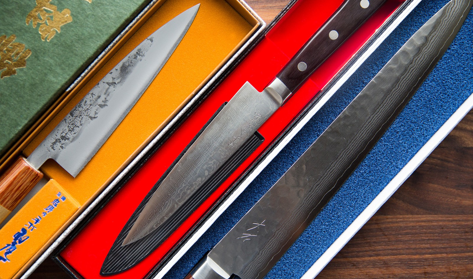 The ChefSteps Knife Collection