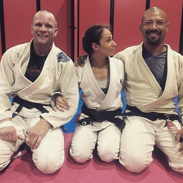 Found this gem in my dropbox My Professor charleswolfpack Steve Hall and me When the snow falls and the wind blows the lone wolf dies but the pack survives wolfpack bjj jiujitsu friday tbtjpg
