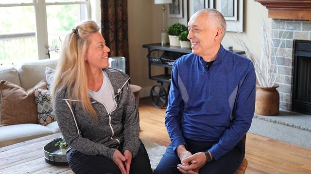 Dr. David Berceli and Donna Phillips