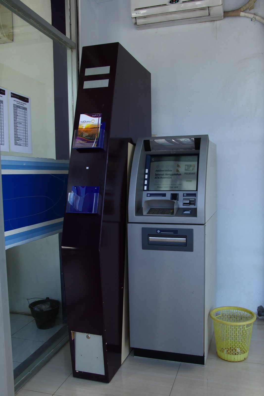 Ilustrasi ATM Muamalat