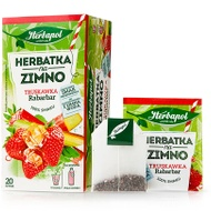 Herbatka na zimno - Truskawka Rabarbar from Herbapol