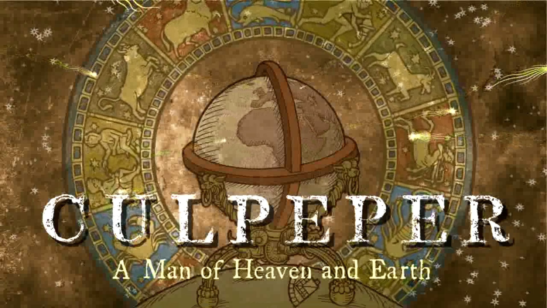 Opening titles for the 'Culpeper' movie.