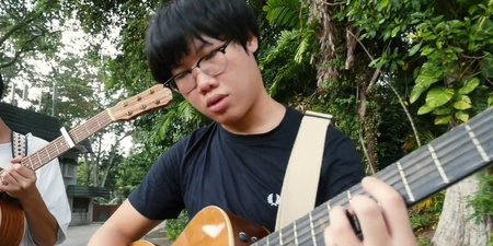 WATCH: SUBSONIC EYE perform 'cosmic realignment' in the rain along deserted Changi for Bandwagon Sessions