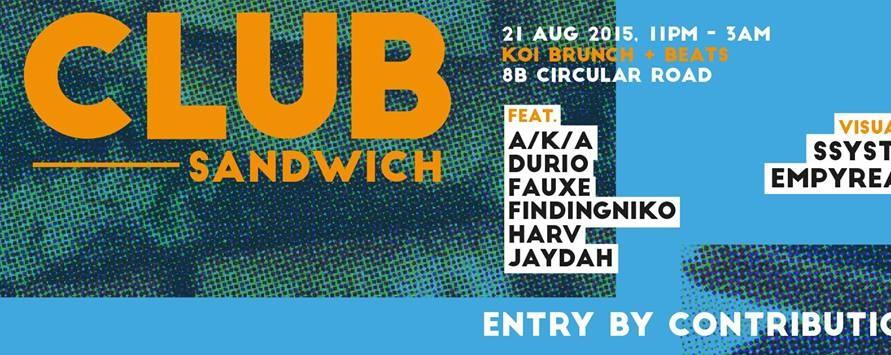 PHYLA X ATTAGIRL! present CLUB SANDWICH
