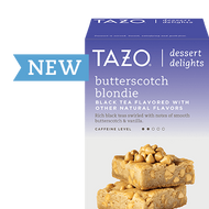 Butterscotch Blondie from Tazo