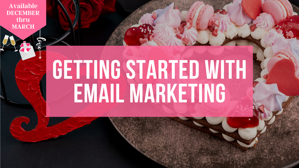 Learn how to get started with email marketing in your baking and sweets business from the Sugar Coin Academy, Business Help for Bakers.