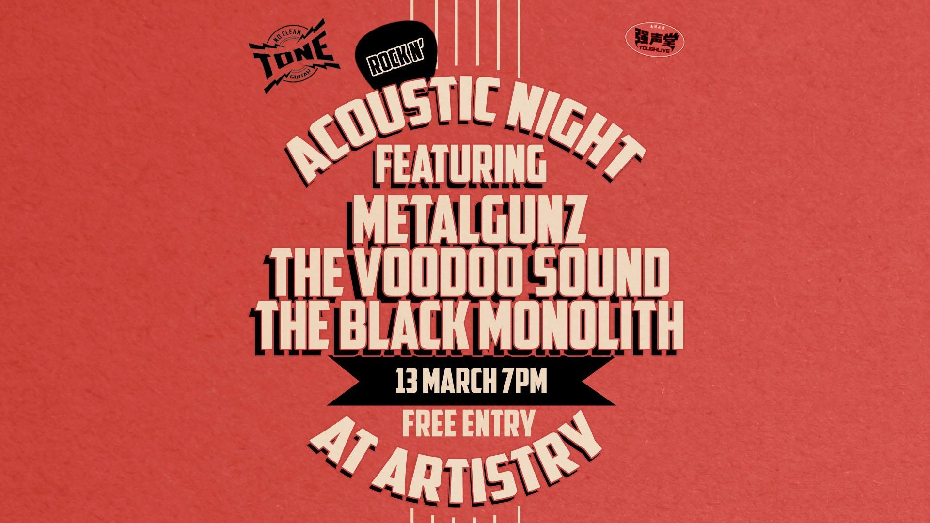 Rock n' Acoustic Night at Artistry