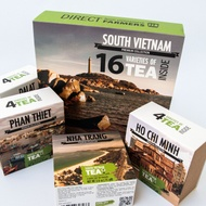 Tea Gift Set of 16 Teas . South Vietnam . from Sense Asia