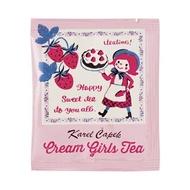 Cream Girls Tea from Karel Capek