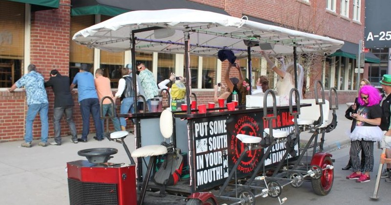 12 Person Bike Bar Denver Booze Cruise Denver Group Ride