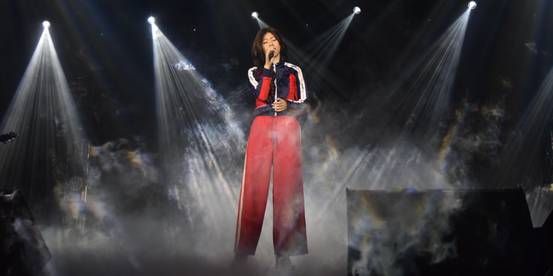 从网红到专业歌手:蔡恩雨成功的一年