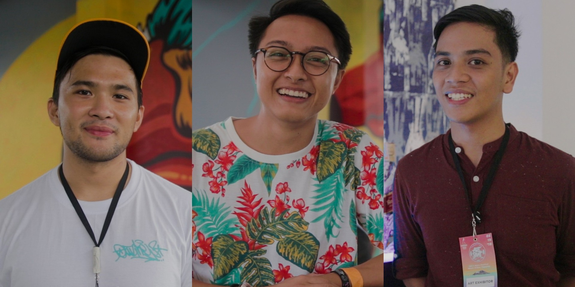Jappy Agoncillo, Lee Caces, Razel Mari talk about their art, music at Tagaytay Art Beat 3