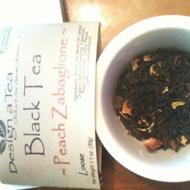 Peach Zabaglione from Design a Tea