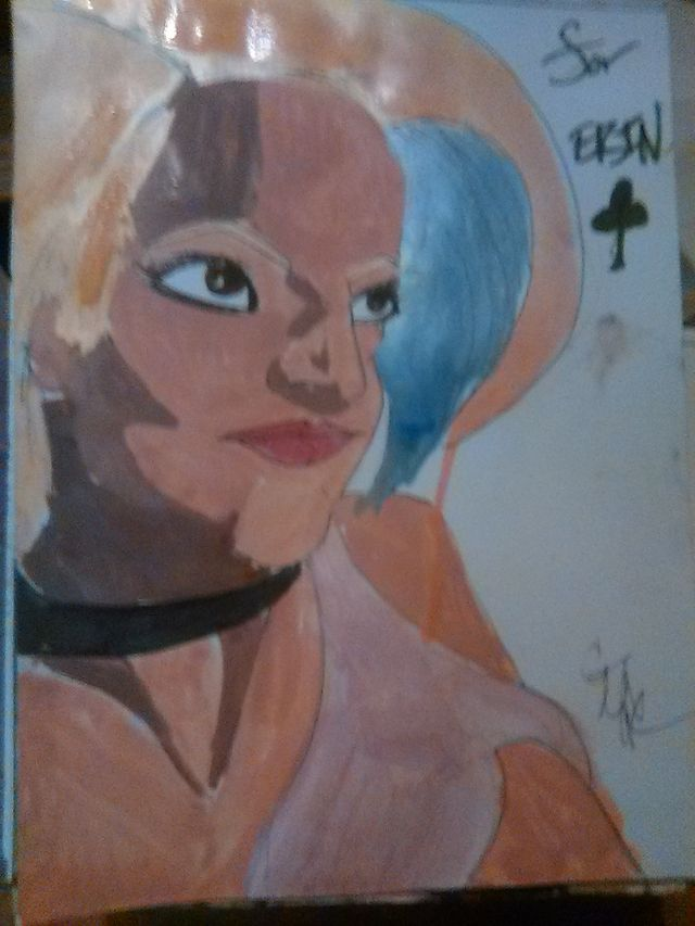 image: ERIN. ACRYLIC ON BRISTOL. 19.99 usd