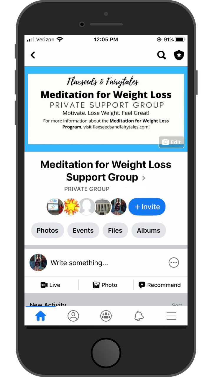 Meditation for Weight Loss Support Group