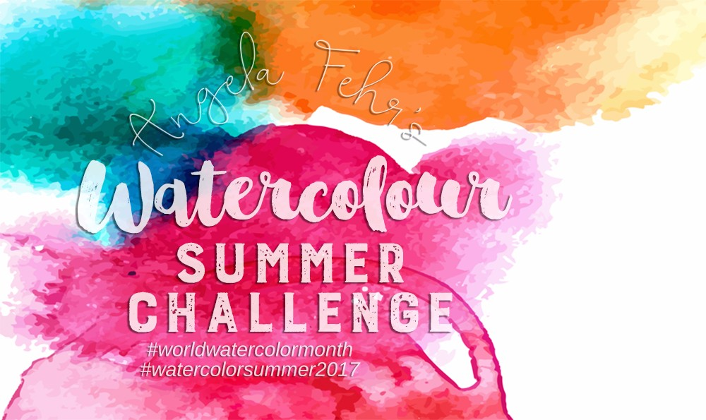 Watercolor Summer Challenge