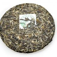 2011 Sheng(Raw)Pu-erh Bing-Tea Cake-Bing Dao Old Tea Tree Silver Downy Buds-BDSD11 from ESGREEN