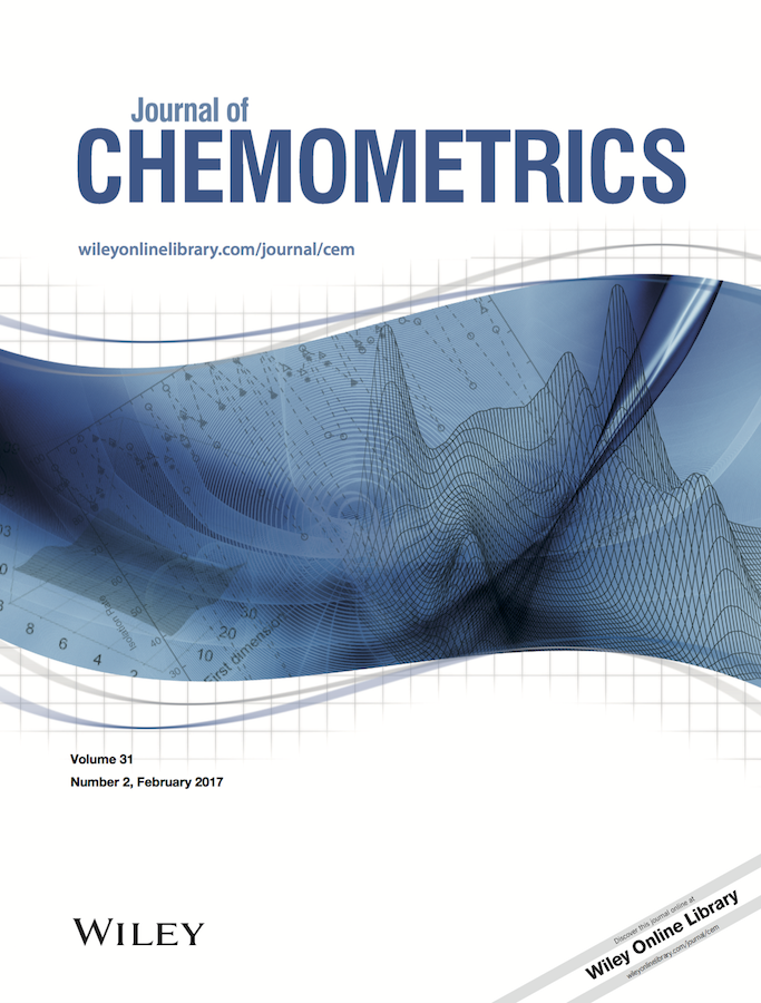 Template for submissions to Journal of Chemometrics