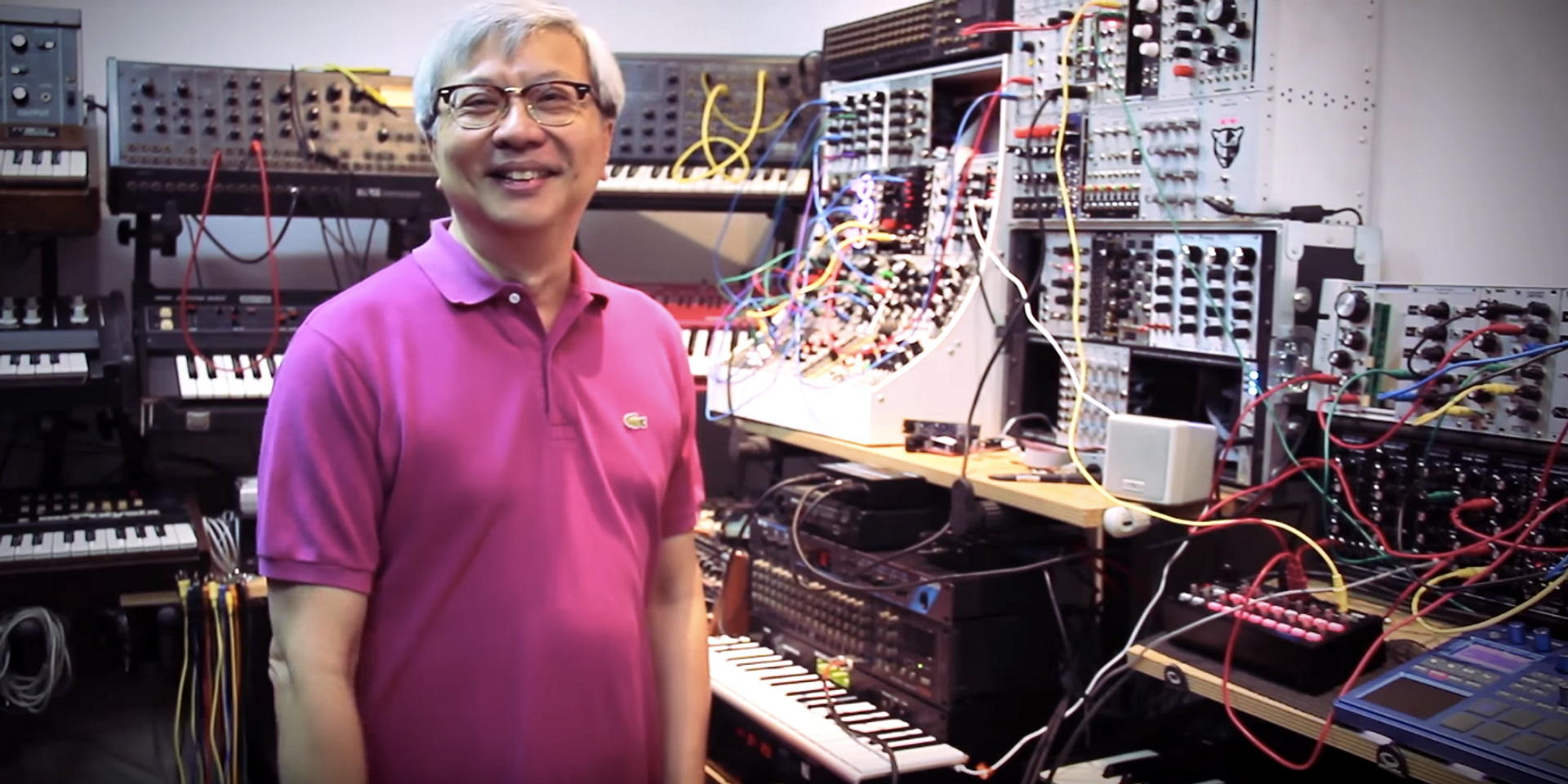 WATCH: This Singaporean's astounding vintage synth collection