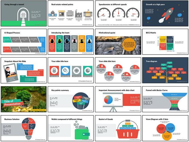 PowerPoint Flat Design Pack