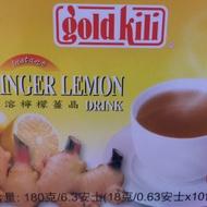 Ginger Lemon Drink from Gold Kili
