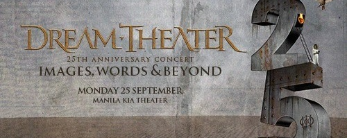 Dream Theater Images, WORDS & Beyond in Manila