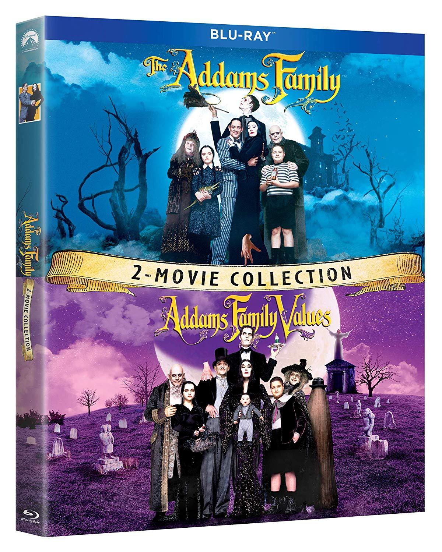 Addams Family & Addams Family Values Bluray Combo