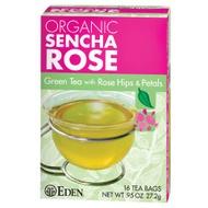 Sencha Rose Green Tea from Eden