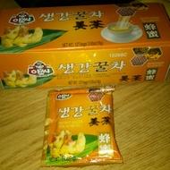 instant ginger tea (honeyed) from assi brand