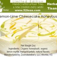 Lemon-Lime Cheesecake Honeybush from 52teas