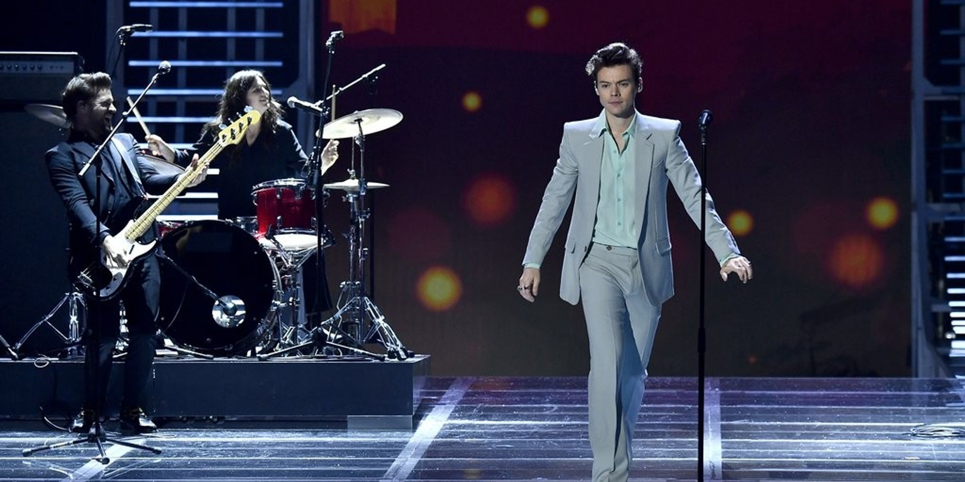 Harry Styles steals the show at Victoria's Secret runway in Shanghai