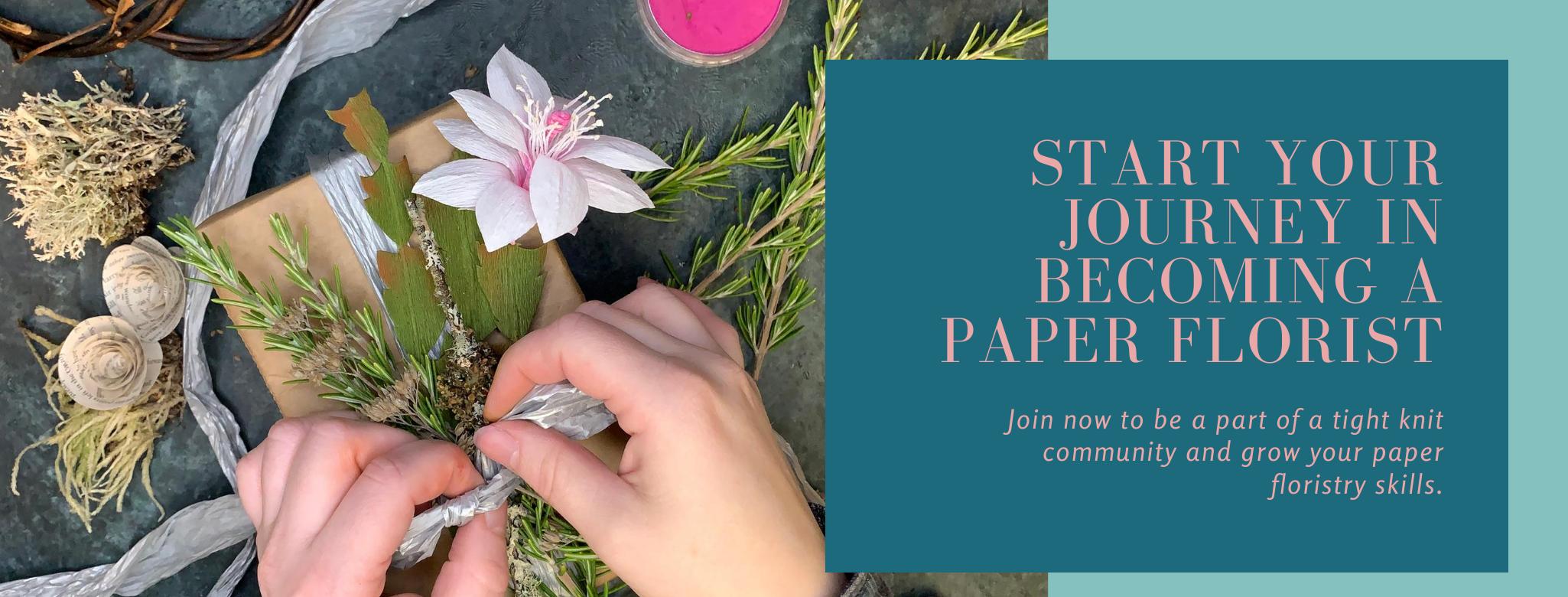 Paper Flower Academy Membership