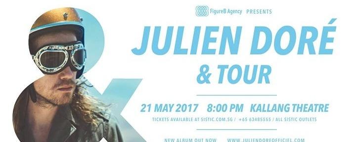 Julien Doré Live In Singapore - & Tour