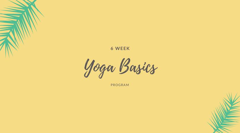 Yoga Basics 6-Week Program | HaileyHeishman